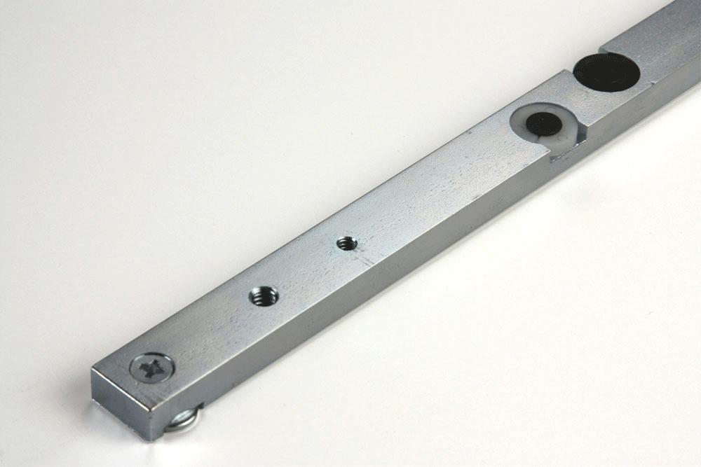 Long-wearing Nylon GlideLOCK adjusting discs