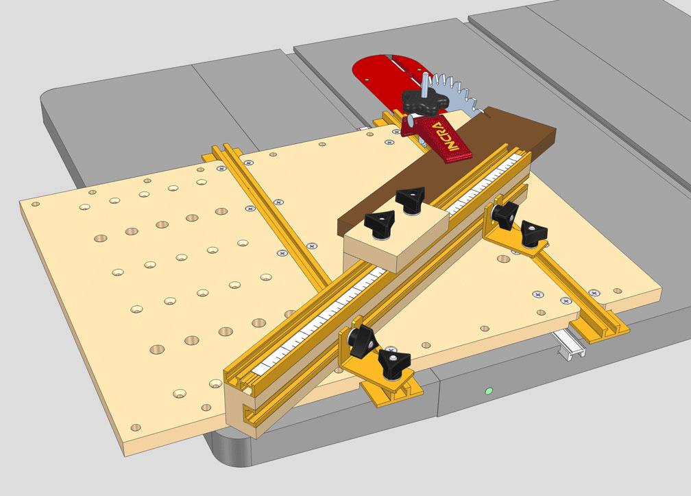 Incra Tools Jig Amp Fixture Components Build It System