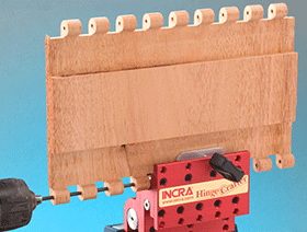 Even Extra Long Hinge Lengths are Easy with the INCRA HingeCrafter
