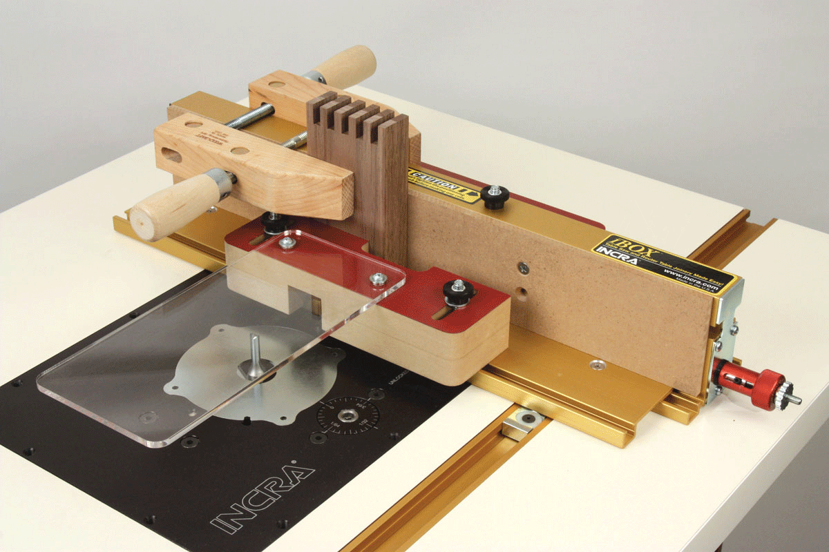 Incra tools precision fences incra i box jig for box joints and your router table keyboard keysfo Choice Image