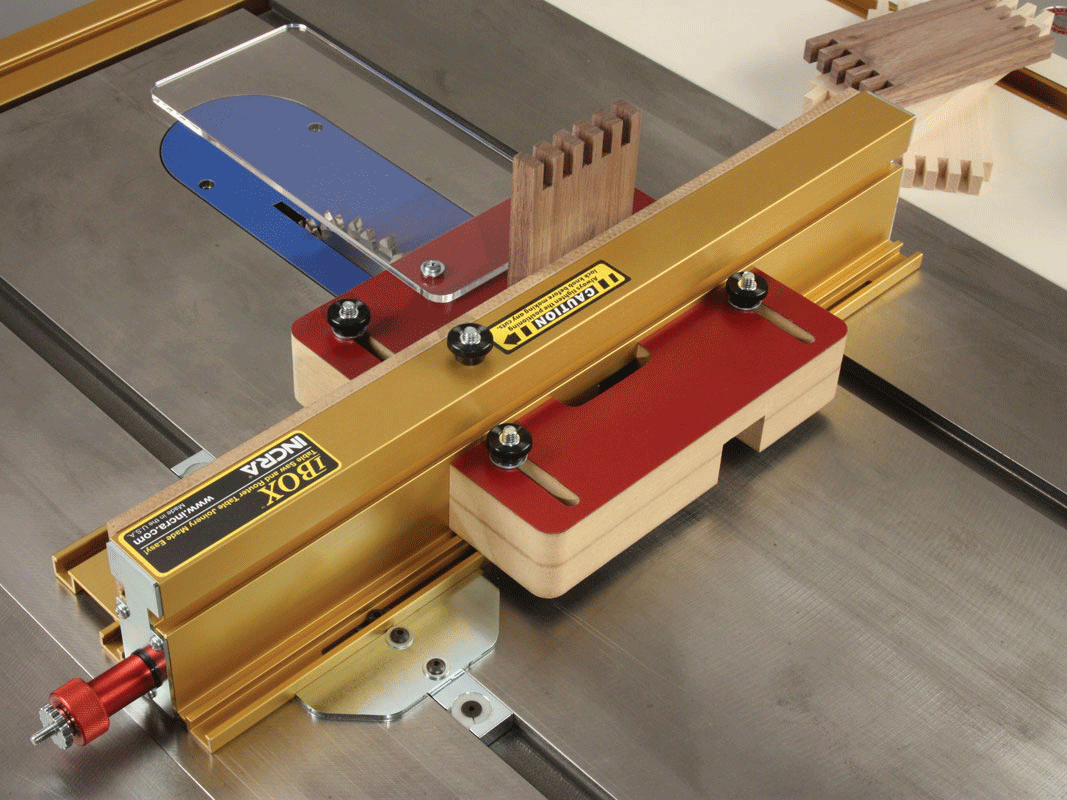 Incra tools precision fences incra i box jig for box joints precision fences router table fences greentooth Images