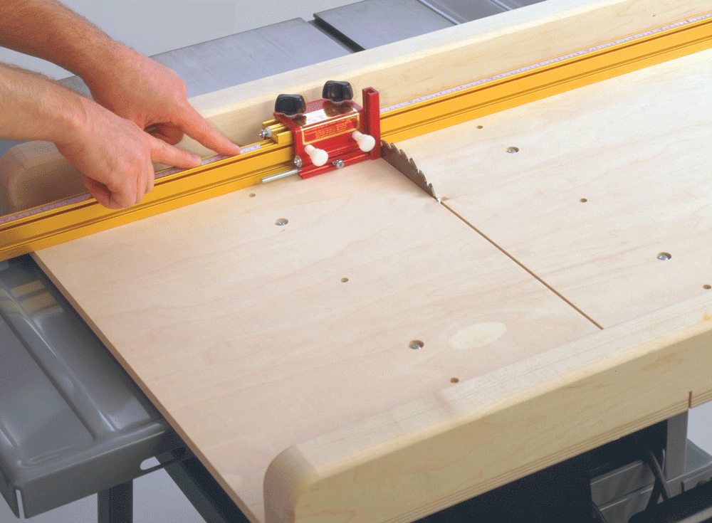 Cross Cut Sled Track Stop Woodworking T-tracks Miter Router T-slot Kit Diy woodw