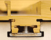 removable front and rear T-Slot retaining clips
