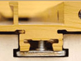 Removable T-Slot Retaining Clips