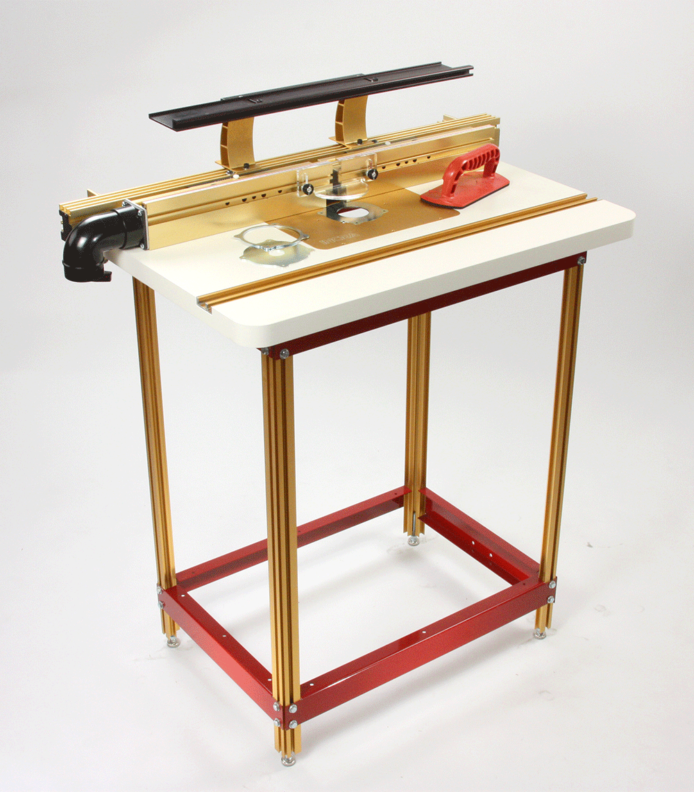 Incra tools precision fences router fence table combos for Router table guide