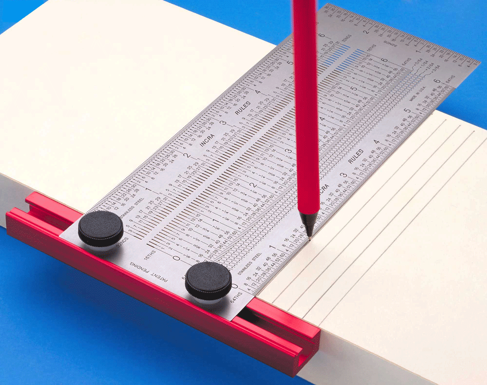 Drawing Perpendicular Lines Using Set Square : Incra tools measuring marking layout precision t
