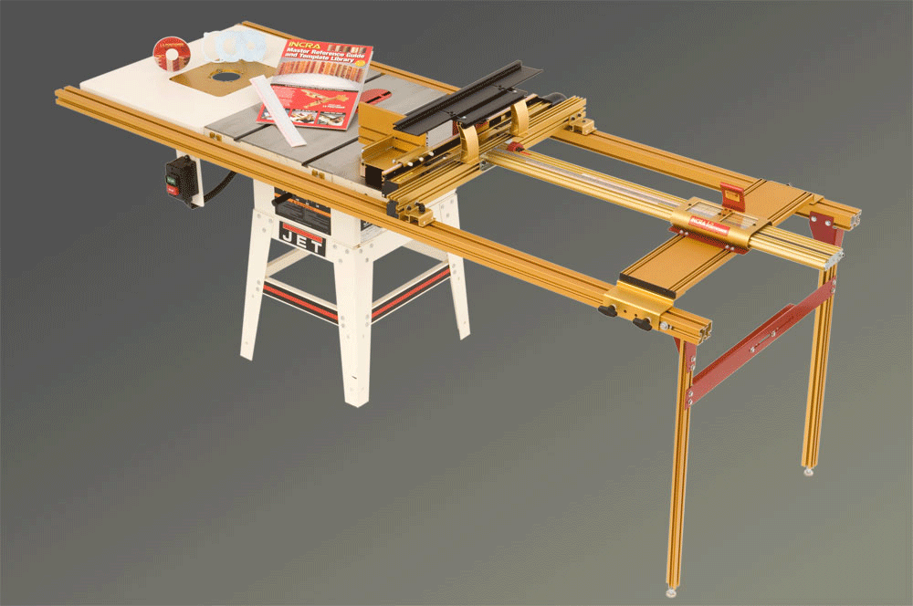Incra tools precision fences table saw combos incra table saw combo 3 greentooth Choice Image