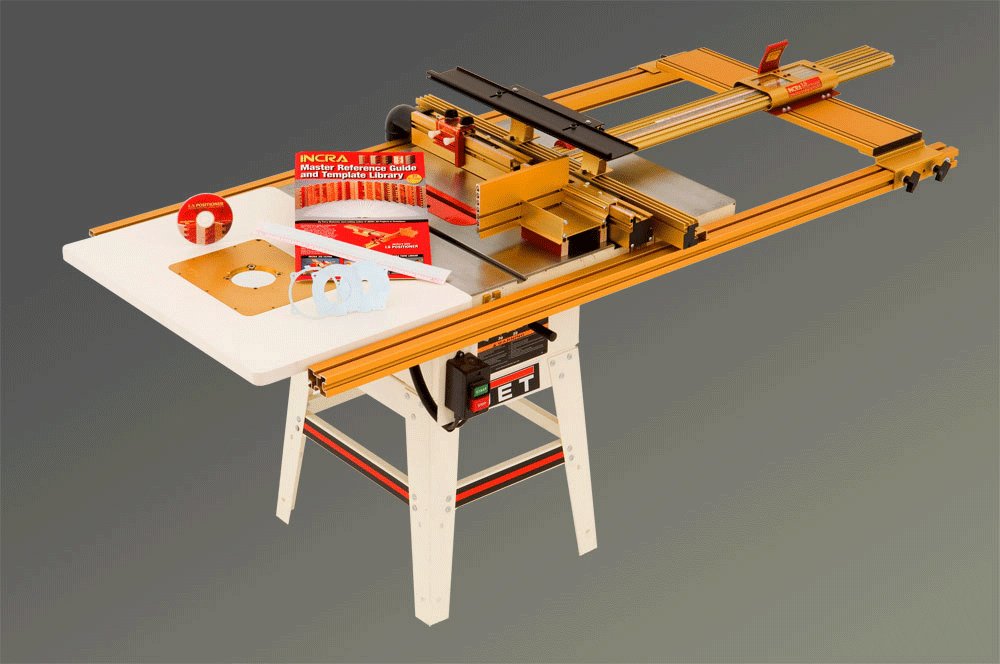 Incra tools precision fences table saw combos combos are available with either 32 or 52 capacity ts systems and include both a router table and the same accessories found in our router table based ls greentooth Images