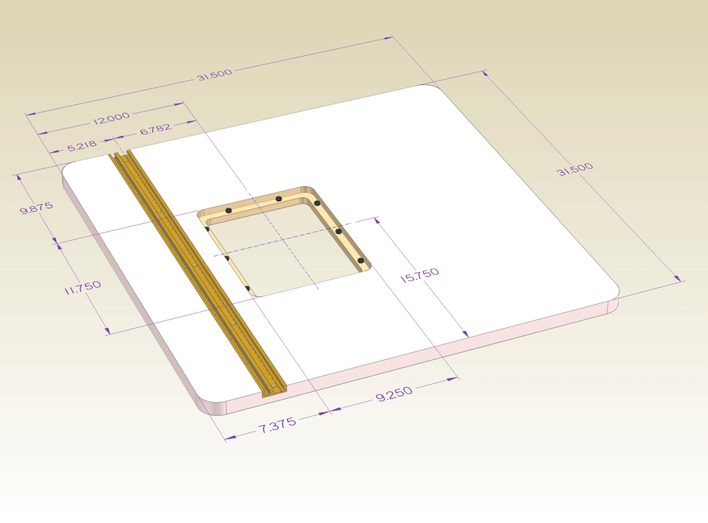 Incra router table insert plate imagescra base assembly fine incra tools greentooth Gallery
