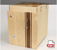Downdraft Dust Collection Cabinet Plans
